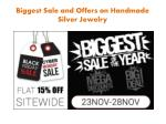 Jewelry Sale - Cyber Monday Sale 15% off everything all day!