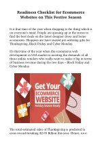 Prepare Your Ecommerce Stores For This Festive Season