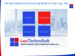 The Most Beneficial Outsourcing Model for Start-ups,ISVs