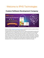 Custom Software Development Company Australia
