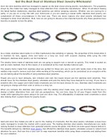 Get the Best Deal at Stainless Steel Jewelry Wholesale!
