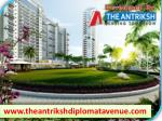 The Antriksh Diplomat Avenue is the best option for the modern Residential Homes