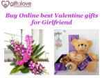 Buy Online Best Valentines Gifts for Girlfriend at Giftalove.com