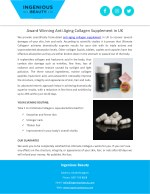 Award Winning Anti Aging Collagen Supplement in UK