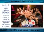 Male Strip Clubs Melbourne, Perth and Sydney
