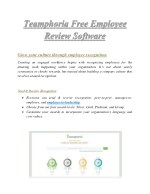 Free Employee Review Software