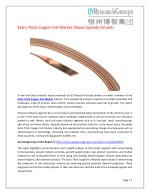 Global Extra Thick Copper Foil Market Research