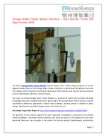 Global Storage Water Heater Market Research