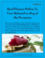 Send Flowers Online To Your Beloved on Any of the Occasions