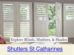 Blinds StCatharines