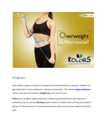 Over weight is worrisome?