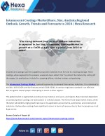 Global Intumescent Coatings Market is Expected to Witness Rapid Growth till 2024