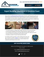 Expert Building Inspections in Sunshine Coast