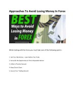 Forex Trading Tips To Avoid Losses in 2017