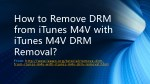 how to remove DRM from iTunes M4V with iTunes M4V DRM Removal