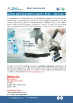 Science Lab Equipments Suppliers