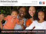 Highly Experienced & Reputed New York Probate Attorney
