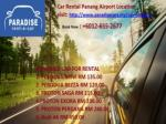 Cheap Car Rental Penang - Car Rental Penang