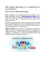 Why Digital Marketing is Important For Every Business?