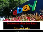 Ecommerce eBay Data Entry by Gtechwebindia