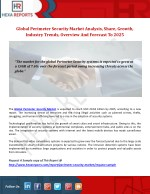 Perimeter Security Market - Overview And Forecast, 2014-2025