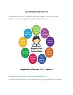 IntelliPayroll ESS Portal,Payroll Software