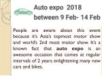 Some new cars to launch at auto expo 2018