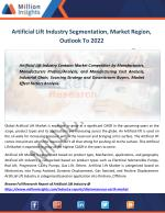 Artificial Lift Market Size, Gross Margin, Overview, Competitors to 2022