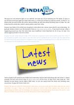 Latest Breaking News On India, Current Affairs & News Headlines Today