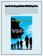 Preach The Clear Message Of Salvation With Hindi Gospel Tracts