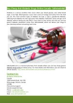 Buy Cheap Anti-Diabetic Drugs Online Canada- Safemeds4all