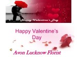 Valentine's flowers delivery in Lucknow