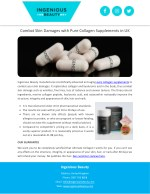 Combat Skin Damages with Pure Collagen Supplements in UK