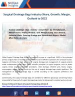 Surgical Drainage Bags Industry Analysis, Size, Growth,Share Forecast to 2022