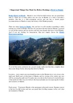 3 Important Things One Must See Before Booking a Hotel in Shimla