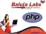 Php course with live project training in janakpuri, New Delhi