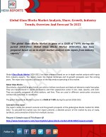 Glass Blocks Market Share - Global Industry Research Report, 2018-2022