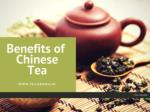 Benefits of Chinese Tea