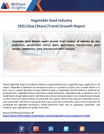 Vegetable Seed Industry 2021|Size|Share|Trend|Growth Report