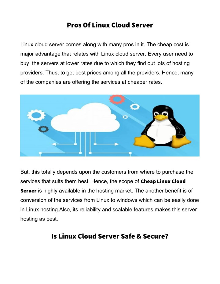 PPT - Linux VPS Cloud Server PowerPoint Presentation - ID