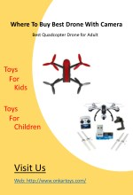 Where Buy Best Drone With Camera