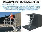 Technicalsafety.com.au : Anchor Point Installation Sydney
