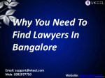 Lawyers in Bangalore