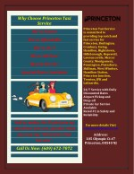 Private car, taxi and limo service in Princeton at best price