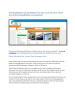 SearchandFind24.com Classifieds | Free. Easy. Local. Post your ads for free with SearchandFind24.com Classifieds