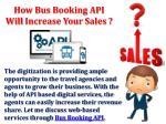 Bus Booking API - Develop Your Online Bus Ticket Reservation Business