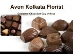 Chocolate Day Special Delivery by Avon Kolkata Florist