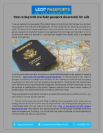 How to buy USA real fake passport documents for sale