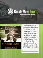 Ppt Junk Removal Phoenix Powerpoint Presentation Free Download Id 7533205