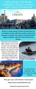 Exploring Tourism: Ukraine Travel Agency & Tour Operator